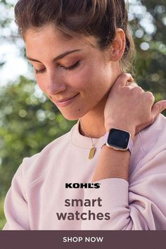 6de5de4e58e0f Make your workout count with smart watches from Kohl s. Keep track of your  overall health