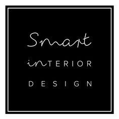 Smart Interior Design Logo - S Martin black and white