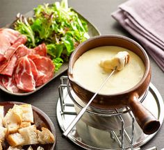 Cheese fondue cheese pinterest fondue cheese and food cheese fondue recipe better homes and gardens yahoo7 forumfinder Images