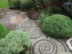 Arabella Lennox Boyd – invention and boundless imagination in the gardens at Gresgarth Hall Path Design, Garden Paths, Inventions, Kids Rugs, Outdoor Decor, Imagination, Gardens, Business, Kid Friendly Rugs
