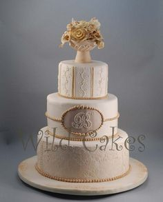 Neutral Wedding cakes | Recent Photos The Commons Getty Collection Galleries World Map App ...