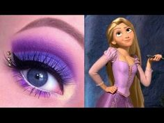 Princess Rapunzel Makeup Tutorial. Youtube channel: http://full.sc/SK3bIA