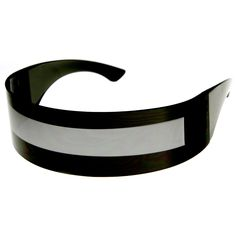 Futuristic Monoblock Daft Punk Wrap Shield Sunglasses