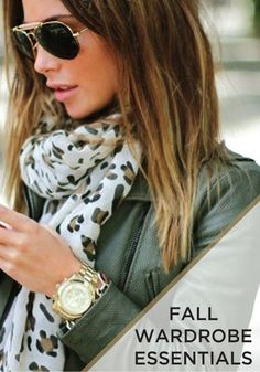 You're going to love these fall wardrobe essentials!