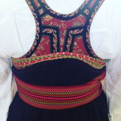 |17th of may, details| #bunad #beltestakkfratelemark #telemarkinmyheart #syttendemai #bunad - guttestrikkpapinnene Russian Fashion, Russian Style, Folk Costume, Costumes, Gender Nonconforming, Doll Patterns, Norway, Ethnic, Textiles