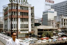 1967 Manila - Savory Restaurant and Pan Am Building (ctto)
