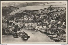 Polperro, Cornwall, 1955 - Aero Pictorial RP Postcard