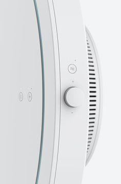 button/volume/+/-/blow/circle/white/led/fan/turn/rotate