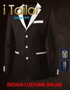Design Custom Shirt 3D $19.95 kraag Click http://itailor.nl/shirt-product/kraag_it147-1.html