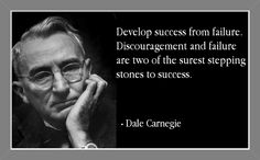 Quote about success by Dale Carnegie...