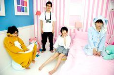 Shinsei kamattechan in pastel bedroom