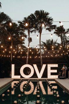 33 Wedding Pool Party Decoration Ideas ❤ wedding pool party decoration ideas candles greenery lighting joeyandjase #weddingforward #wedding #bride #weddingdecor #weddingpoolpartydecorationideas
