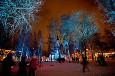 Valoa Oulu! Lichterfest in #Oulu