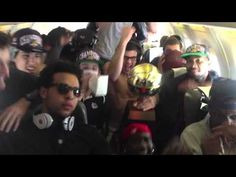 Gonzaga Basketball Harlem Shake on our plane ride back from Vegas..