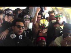 Gonzaga Basketball Harlem Shake on our plane ride back from Vegas..