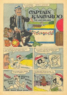 Saved From The Paper Drive: Comic Book Short Story~Captain Kangaroo