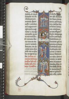 Scenes from Matthew's Passion Gospel Lectionary, Use of Paris ('Quatrième Évangéliaire de la Sainte-Chapelle') France, Central (Paris); c. 1285-1290