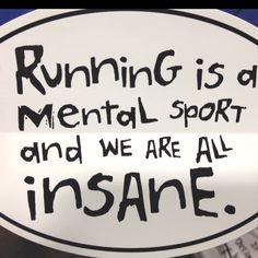 It's true.  It was hysterical to hear our group of running girls all complaining about our aches and pains as we were training for the half!  ;)