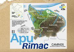Caminos aéreos, terrestres y fluviales hacia Apurímac