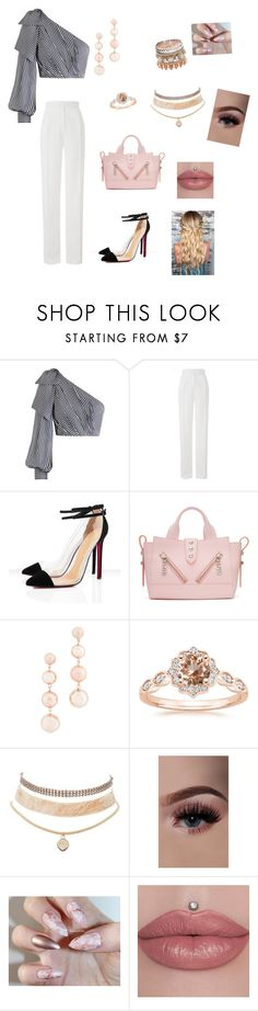 """""""Blush"""" by eliza702 ❤ liked on Polyvore featuring Zimmermann, Amanda Wakeley, Kenzo, Rebecca Minkoff and Charlotte Russe"""