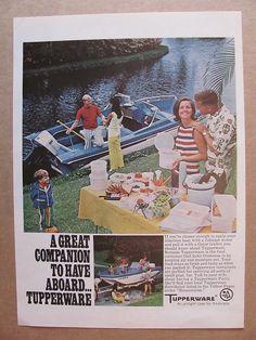 Tupperware ad (Tupperware on the BOAT!!!) ;-)