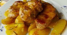 Φιλετάκια μαριναρισμένα & πατάτες το κάτι άλλο !!! Chicken Wings, Meat, Vegetables, Food, Beef, Veggies, Veggie Food, Meals, Vegetable Recipes