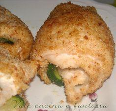 involtini di pollo ripieni di zucchine e grana secondi piatti vale cucina e fantasia