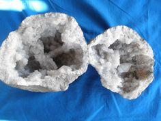 Beautiful Geode Both Halves  6 Diameter by SureEnoughOldStuff