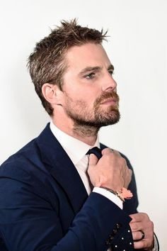 See These Glowing Portraits of Celebs From Supernatural, Arrow, and More Favorite Shows : Stephen Amell, Arrow Hot Actors, Actors & Actresses, Hottest Male Celebrities, Celebs, Susanna Thompson, Tommy Merlyn, Oliver Queen Arrow, Stephen Amell Arrow, Oliver And Felicity