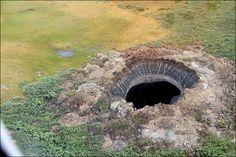 Учените достигнаха до огромната дупка в Сибир и надникнаха в нея