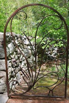 Francine Gardner - Art de Vivre: Garden walls, fences and gates....