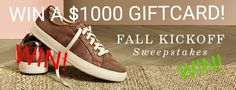 Enter to #win a $1,000 giftcard!   ENTER: https://wn.nr/M2Kms7  #sweepstakes #giveaway #contests #fallkickoff #BackToSchool #autumn