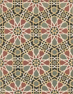 Mosque mosaic wall decoration, Cairo.