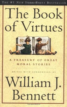 Day 3 of the Character Building Book Series, The Book of Virtues and More!