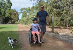 Walking the dog - anxiety relief Location: Dianella, WA Photographer: Michiko Parnell