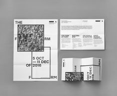 lisbon architecture triennale's visual identity sees r2 endlessly constructing 'the form of form'