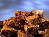 Mexican Rhubarb Chocolate Chunk Brownies