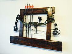 Diy compound bow rack