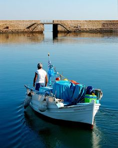Fisherman of the Venetian Harbor in Chania on the Greek is… | Flickr