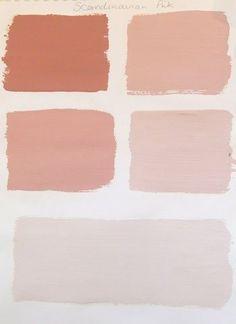 Scandinavian Pink Progression