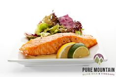 Southwestern Salmon | Pure Mountain Olive Oil and Vinegars | www.PureMountainOliveOil.com |  We love a little spice with our salmon. The Chipotle Olive Oil brings a smoky, spicy flavor to the sweet, delicious sauce for this dish. | #seafood #extravirginoliveoil #chipotle #chipotleoliveoil #salmon #healthysalmon #healthyrecipe