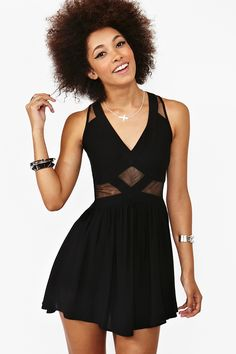 CUTE little black dress, Broken Heart Dress