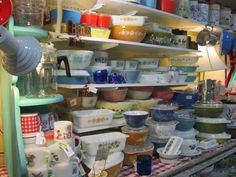 Pyrex collection ... someday