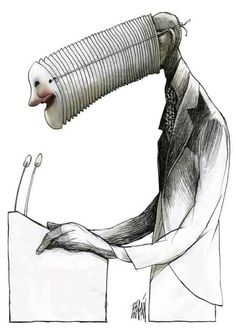 The wordless, surreal and very Cuban satire of Angel Boligán Pictures With Deep Meaning, Art With Meaning, Political Art, Political Cartoons, Art Sketches, Art Drawings, Satirical Illustrations, Meaningful Pictures, Deep Art