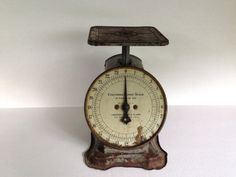 Vintage Rustic Kitchen Scale by COLUMBIA by thevintagetreehouse, $44.50