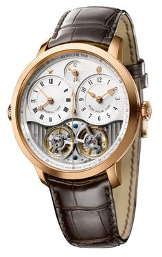 Arnold & Son DBS Watch. I'm not usually one for dress watches but I'd even show up in a suit to buy this one
