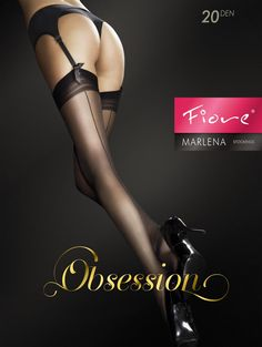 be9af1d74 FiORE MARLENA 20 DEN STOCKINGS  8.95 Black Suspenders