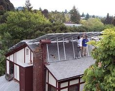 Lothlorien Solar PhotoVoltaics  Lothlorien House financed the installation of solar PV panels on its house in order to generate a portion of the house's energy use.