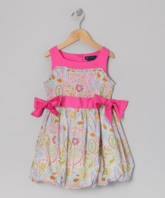 Take a look at this Pink Dessa Dress - Toddler & Girls by Periwinkle on #zulily today!