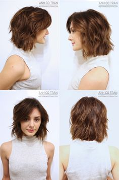 Medium Layered Bob Medium bob hairstyles are still one of the most popular easy care styles because they flatter almost all facial shapes. And not only that, medium bob is a versatile style that you can use lean, cas… Layered Bob Hairstyles, Hairstyles Haircuts, Quick Hairstyles, Everyday Hairstyles, African Hairstyles, Ponytail Hairstyles, Vintage Hairstyles, Straight Hairstyles, Medium Hair Cuts